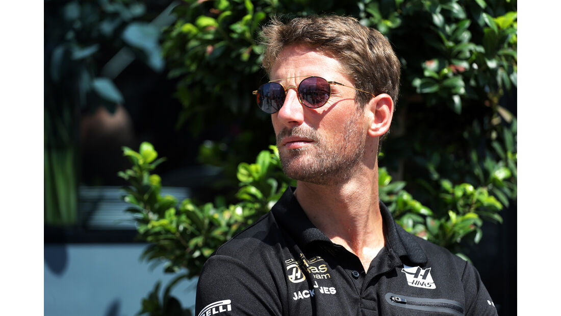 Romain Grosjean - Haas - GP Ungarn - Budapest - Formel 1 - Donnerstag - 1.08.2019