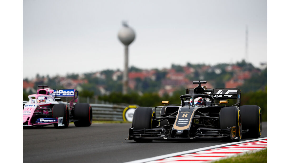Romain Grosjean - Haas - GP Ungarn - Budapest - Formel 1 - Freitag - 2.8.2019