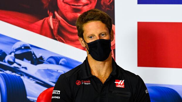 Romain Grosjean - Haas - Jubiläums-Grand Prix - Silverstone 2020