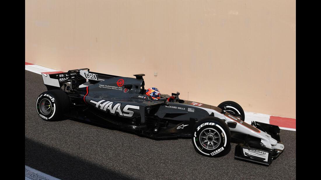 Romain Grosjean - HaasF1 - Abu Dhabi - Test 1 - 28. November 2017