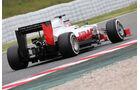 Romain Grosjean - HaasF1 - Barcelona-Test - 17. Mai 2016