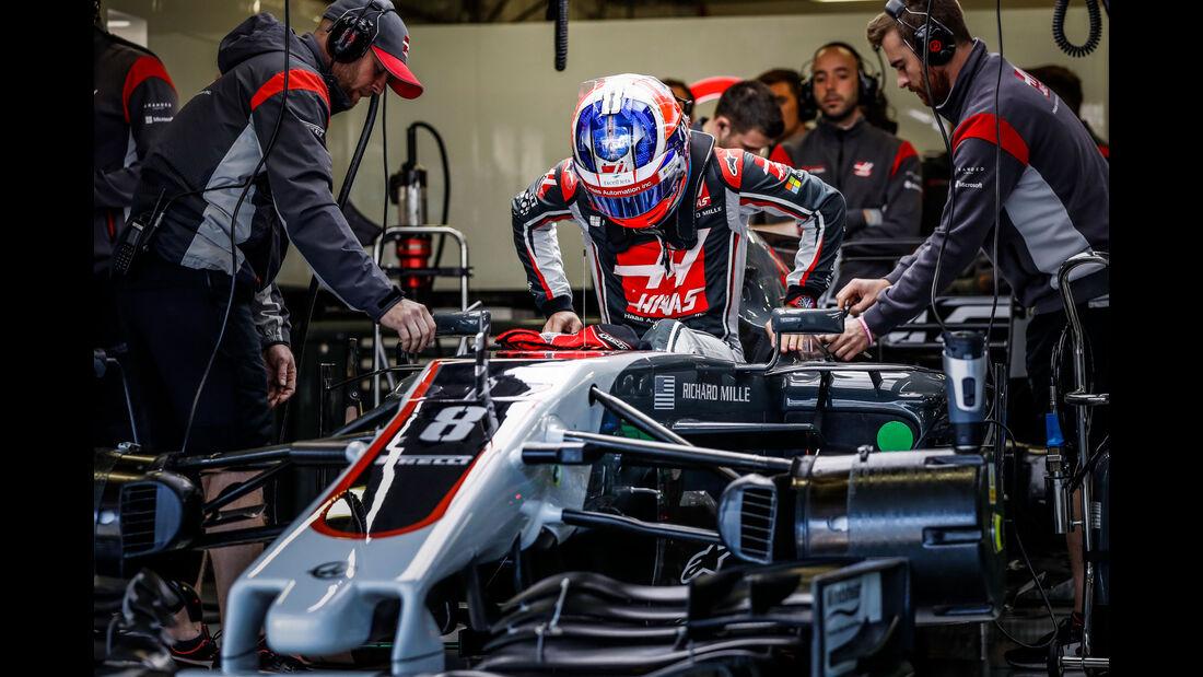Romain Grosjean - HaasF1 - Formel 1