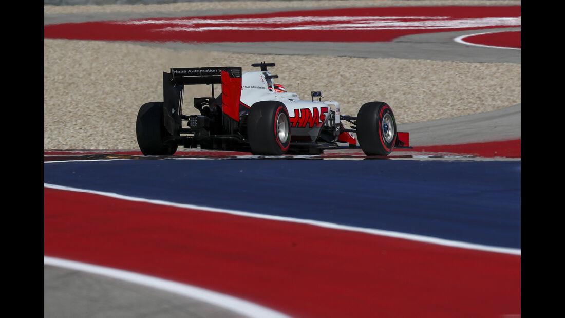 Romain Grosjean - HaasF1 - Formel 1 - Austin - GP USA - 22. Oktober 2016