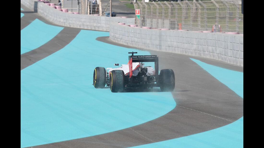 Romain Grosjean - HaasF1 - Formel 1 - GP Abu Dhabi - 25. November 2016