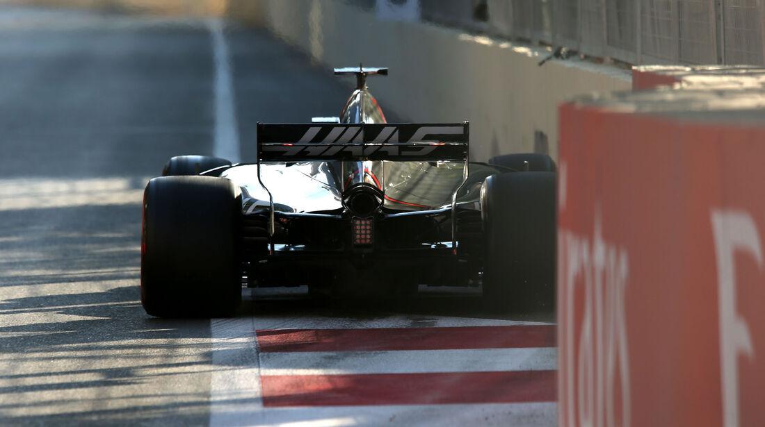 Romain Grosjean - HaasF1 - Formel 1 - GP Aserbaidschan 2017 - Training - Freitag - 23.6.2017