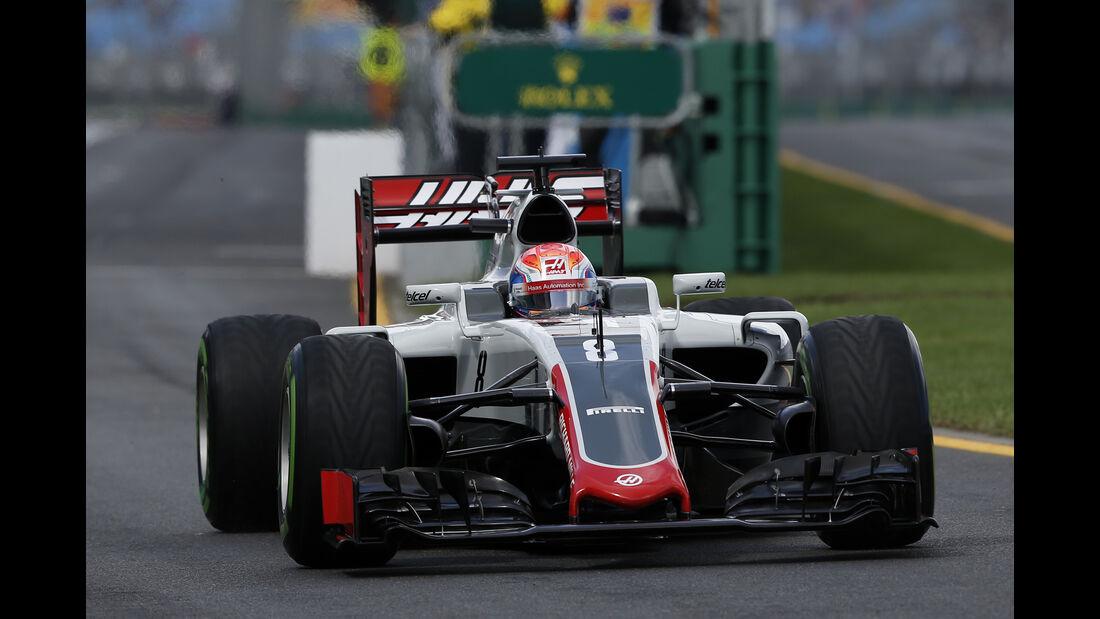 Romain Grosjean - HaasF1 - Formel 1 - GP Australien - Melbourne - 18. März 2016