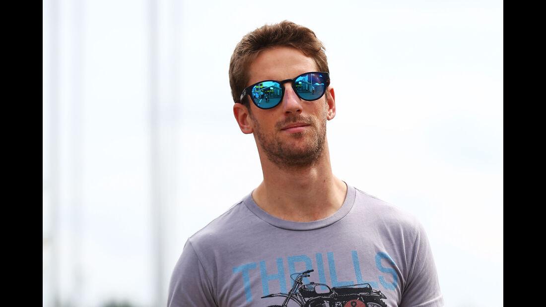 Romain Grosjean - HaasF1 - Formel 1 - GP Deutschland - Hockenheim - 28. Juli 2016