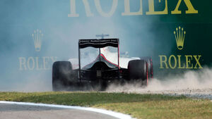 Romain Grosjean - HaasF1 - Formel 1 - GP Italien - Monza - 3. September 2016