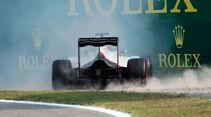 Romain Grosjean - HaasF1 - Formel 1 - GP Italien - Monza - 3. September 2016