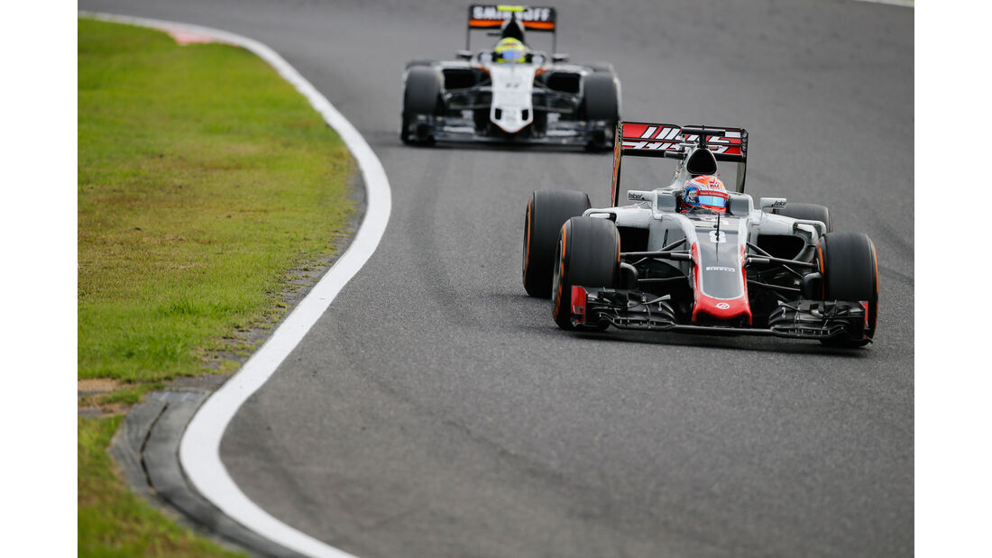 Romain Grosjean - HaasF1 - Formel 1 - GP Japan 2016 - Suzuka