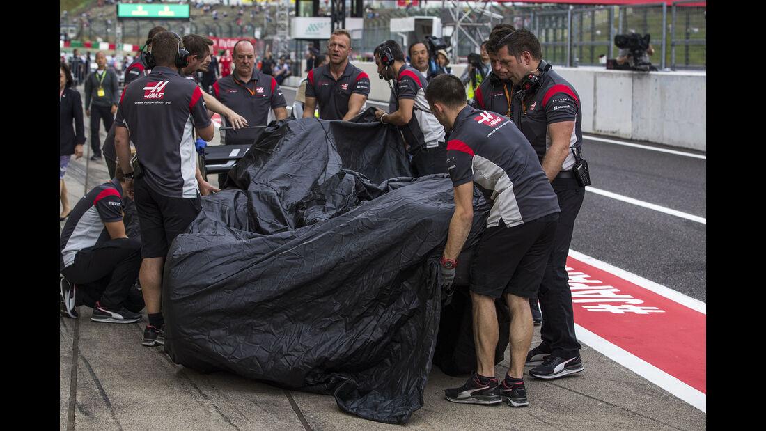 Romain Grosjean - HaasF1 - Formel 1 - GP Japan - Suzuka - 7. Oktober 2017