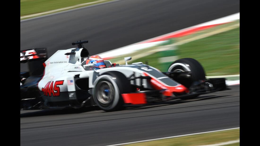 Romain Grosjean - HaasF1 -  Formel 1 - GP Malaysia - Freitag - 30.9.2016