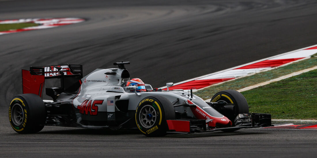 Romain Grosjean - HaasF1 - Formel 1 - GP Malaysia - Qualifying - 1. Oktober 2016