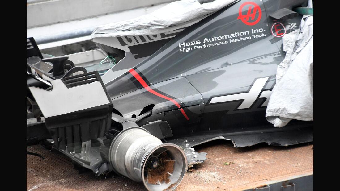Romain Grosjean - HaasF1 - Formel 1 - GP Malaysia - Sepang - 29. September 2017