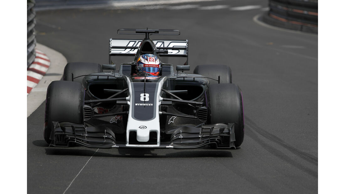 Romain Grosjean - HaasF1 - Formel 1 - GP Monaco - 25. Mai 2017