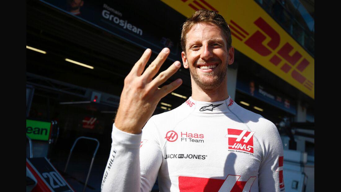 Romain Grosjean - HaasF1 - Formel 1 - GP Österreich - 1. Juli 2018