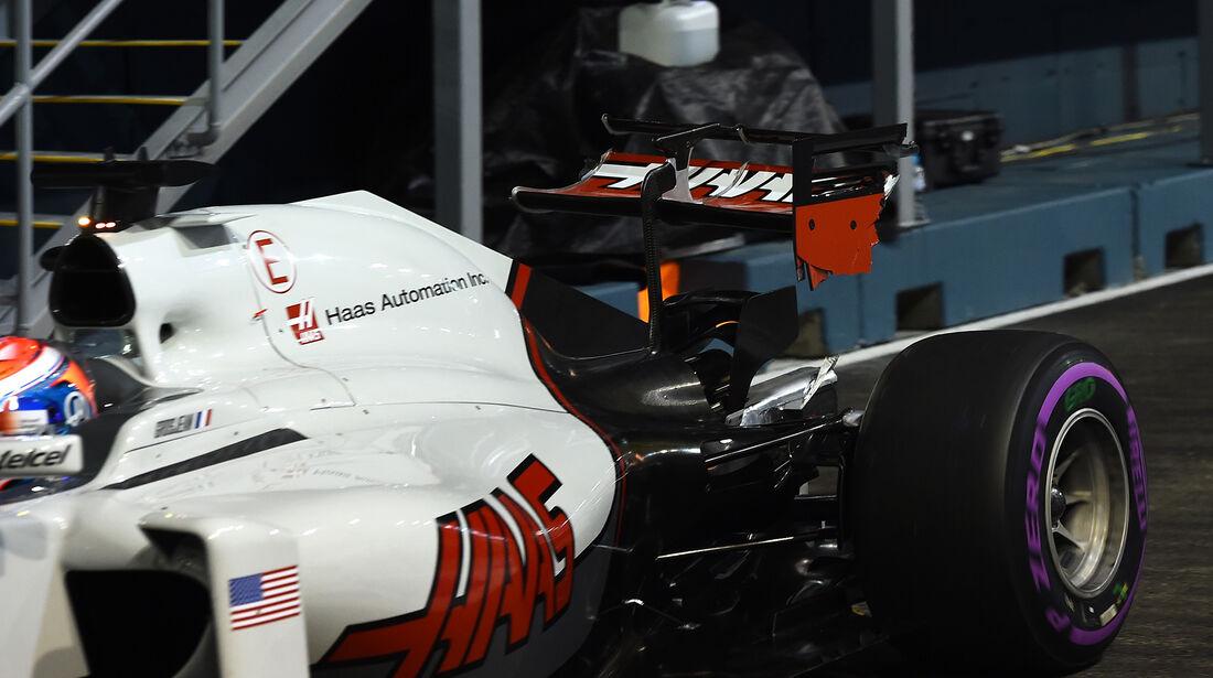 Romain Grosjean - HaasF1 - Formel 1 - GP Singapur - 16. September 2016