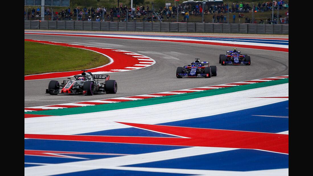 Romain Grosjean - HaasF1 - Formel 1 - GP USA - Austin - 20. Oktober 2018