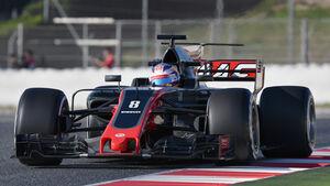 Romain Grosjean - HaasF1 - Formel 1 - Test - Barcelona - 10. März 2017
