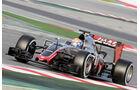 Romain Grosjean - HaasF1 - Formel 1-Test - Barcelona - 3. März 2016