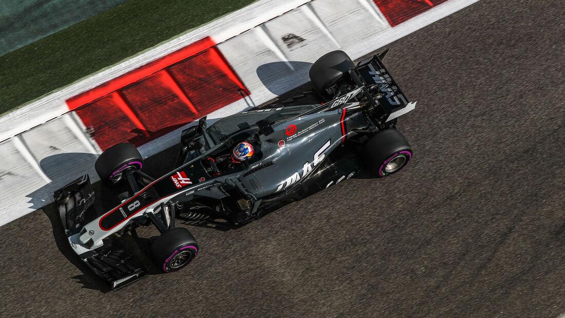 Romain Grosjean - HaasF1 - GP Abu Dhabi 2017