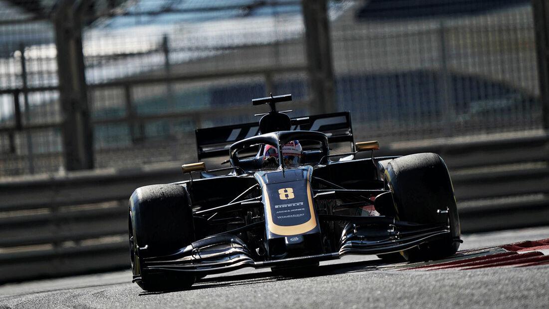 Romain Grosjean - HaasF1 - GP Abu Dhabi - Formel 1 - Freitag - 29.11.2019