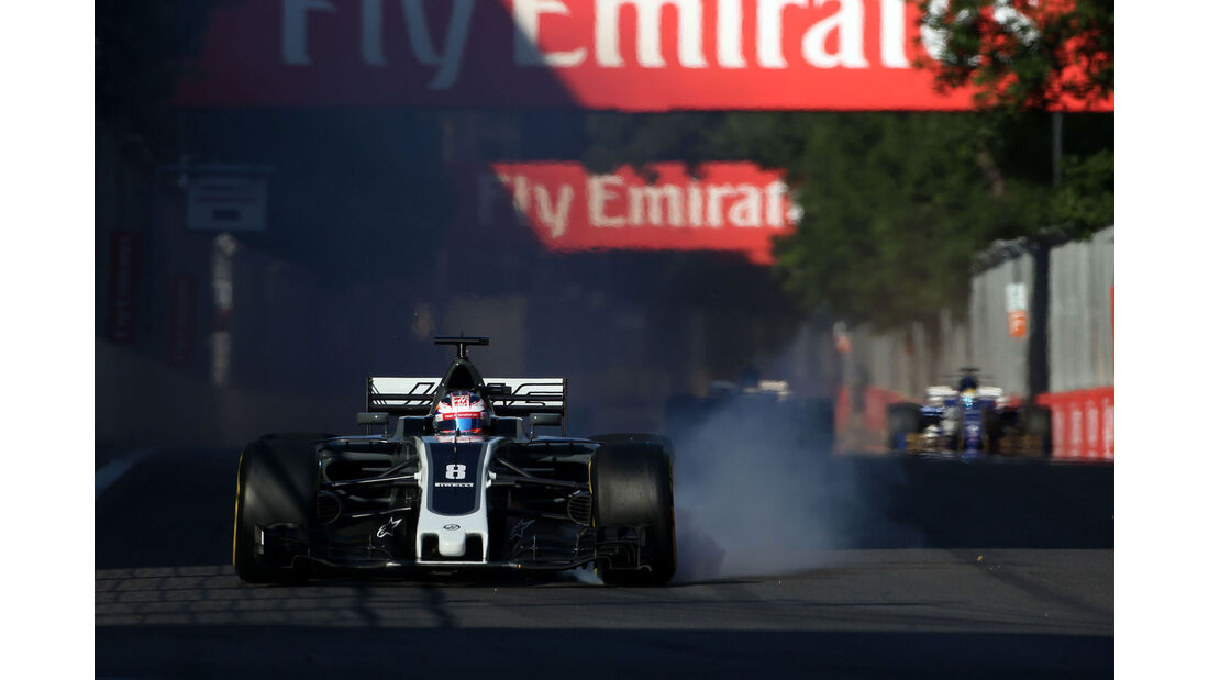 Romain Grosjean - HaasF1 - GP Aserbaidschan 2017 - Baku