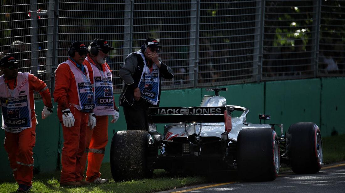 Romain Grosjean - HaasF1 - GP Australien 2018 - Melbourne - Rennen