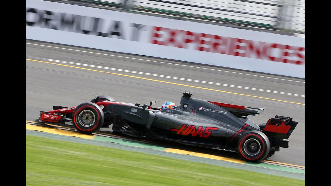 Romain Grosjean - HaasF1 - GP Australien - Melbourne - 24. März 2017