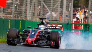 Romain Grosjean - HaasF1 - GP Australien - Melbourne - 25. März 2017
