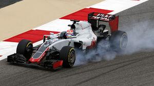 Romain Grosjean - HaasF1 - GP Bahrain - Formel 1 - 1. April 2016