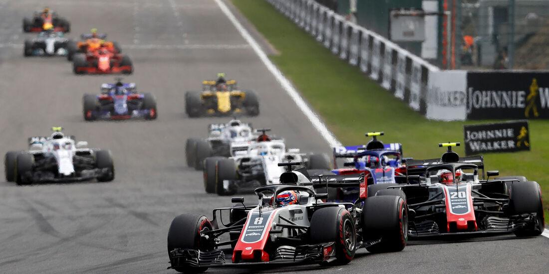 Romain Grosjean - HaasF1 - GP Belgien 2018 - Spa