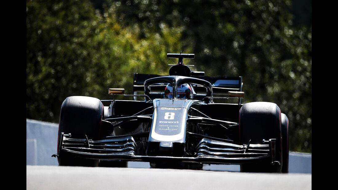 Romain Grosjean - HaasF1 - GP Belgien - Spa-Francorchamps - Formel 1 - Freitag - 30.8.2019