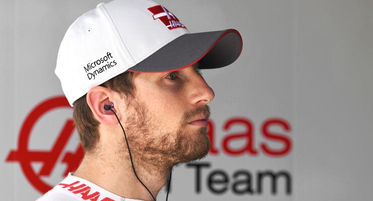 Romain Grosjean - HaasF1 - GP China 2016