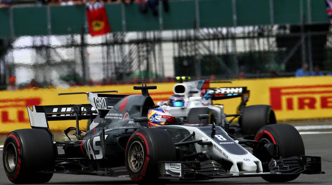 Romain Grosjean - HaasF1 - GP England 2017 - Silverstone - Rennen