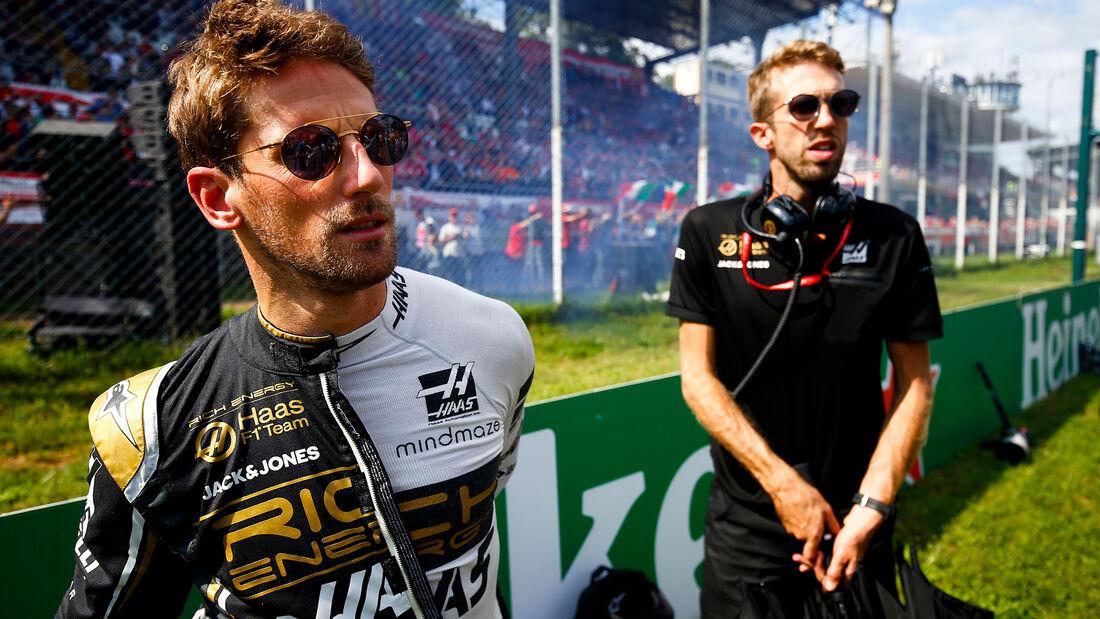 Romain Grosjean - HaasF1 - GP Italien 2019 - Monza