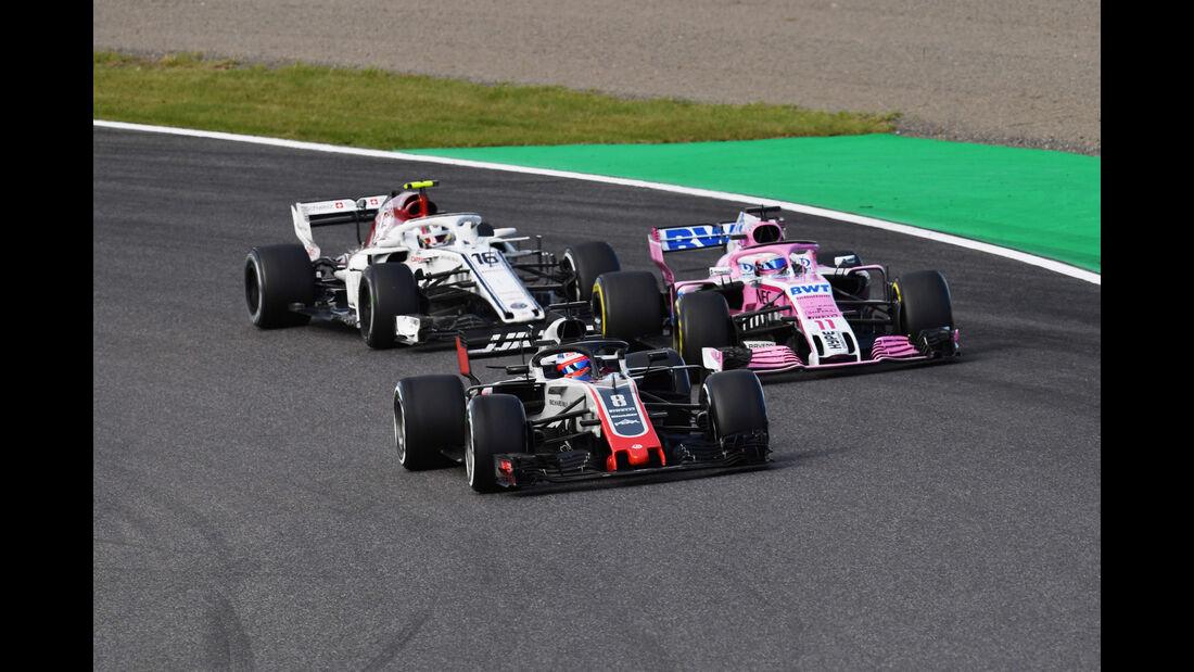 Romain Grosjean - HaasF1 - GP Japan 2018 - Suzuka - Rennen