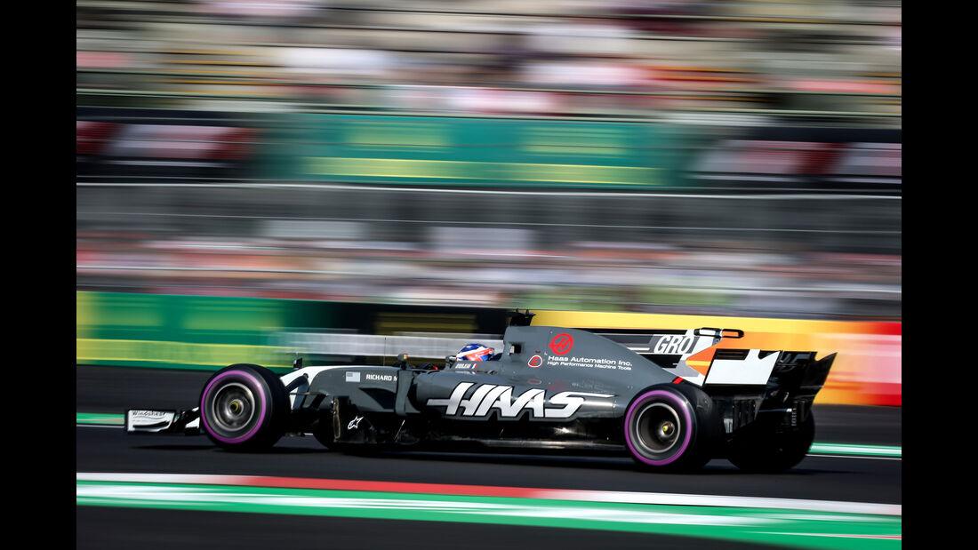Romain Grosjean - HaasF1 - GP Mexiko 2017 - Qualifying