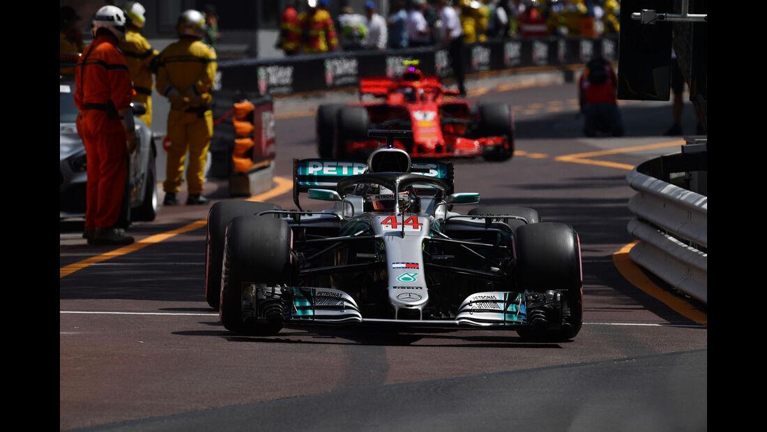 Romain Grosjean - HaasF1 - GP Monaco - Formel 1 - Samstag - 26.5.2018