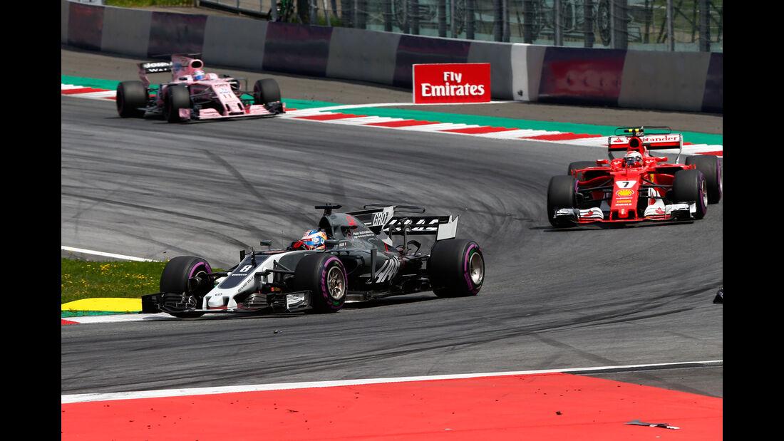 Romain Grosjean - HaasF1 - GP Österreich 2017 - Spielberg