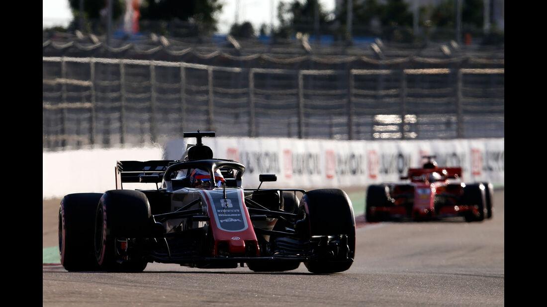 Romain Grosjean - HaasF1 - GP Russland 2018