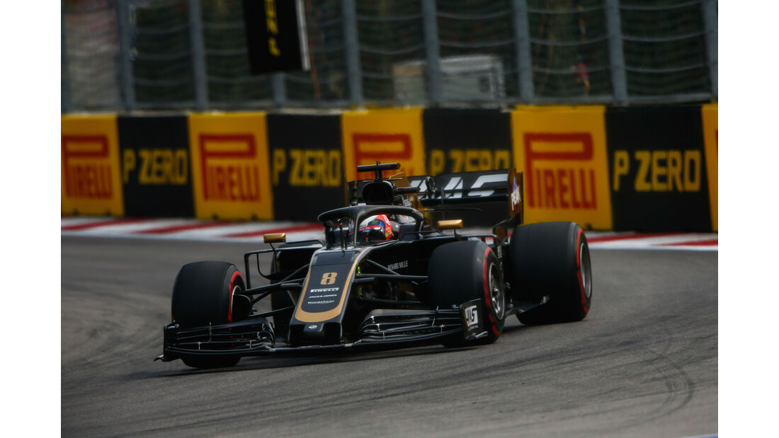Romain Grosjean - HaasF1 - GP Russland - Sotschi - Formel 1 - Freitag - 27.9.2019