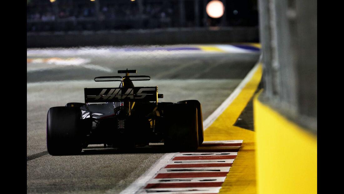 Romain Grosjean - HaasF1 - GP Singapur - Formel 1 - Freitag - 15.9.2017