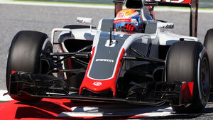 Romain Grosjean - HaasF1 - GP Spanien 2016 - Barcelona - Freitag - 13.5.2016