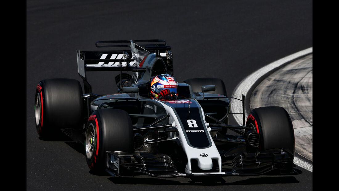 Romain Grosjean - HaasF1 - GP Ungarn 2017 - Budapest - Qualifying
