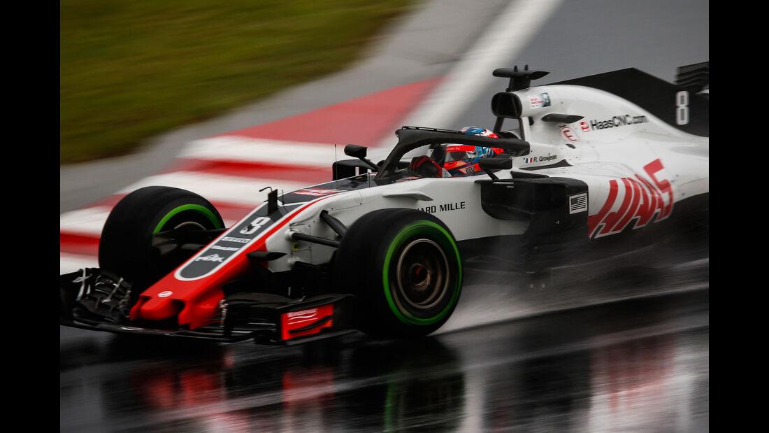 Romain Grosjean - HaasF1 - GP Ungarn 2018 - Qualifying