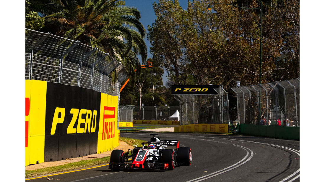 Romain Grosjean - HaasF1 - Qualifying - GP Australien 2018 - Melbourne