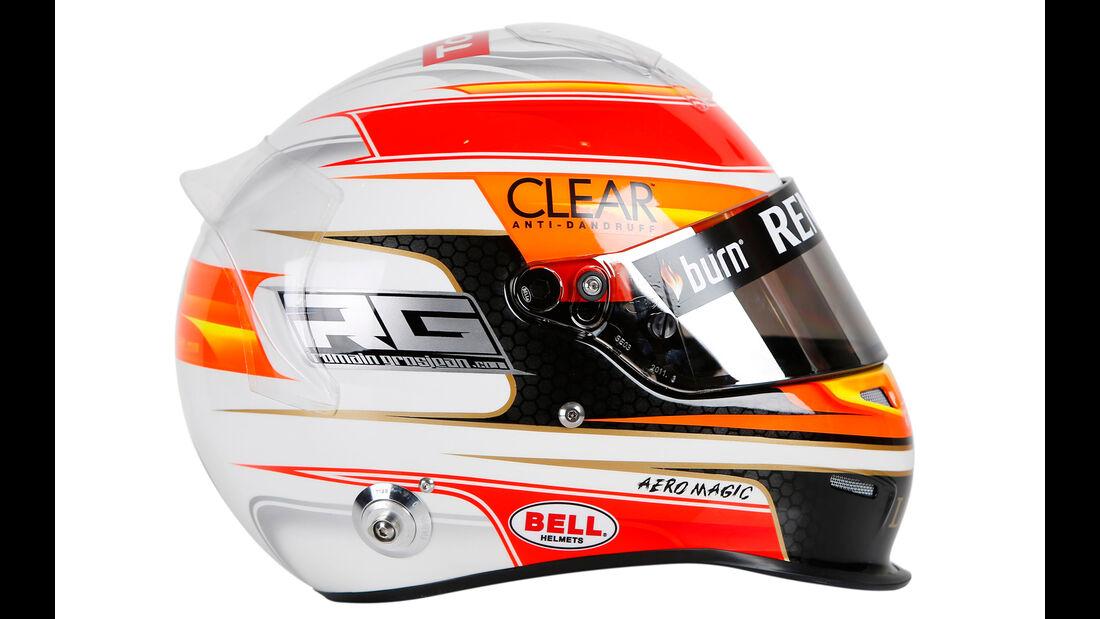 Romain Grosjean Helm 2013