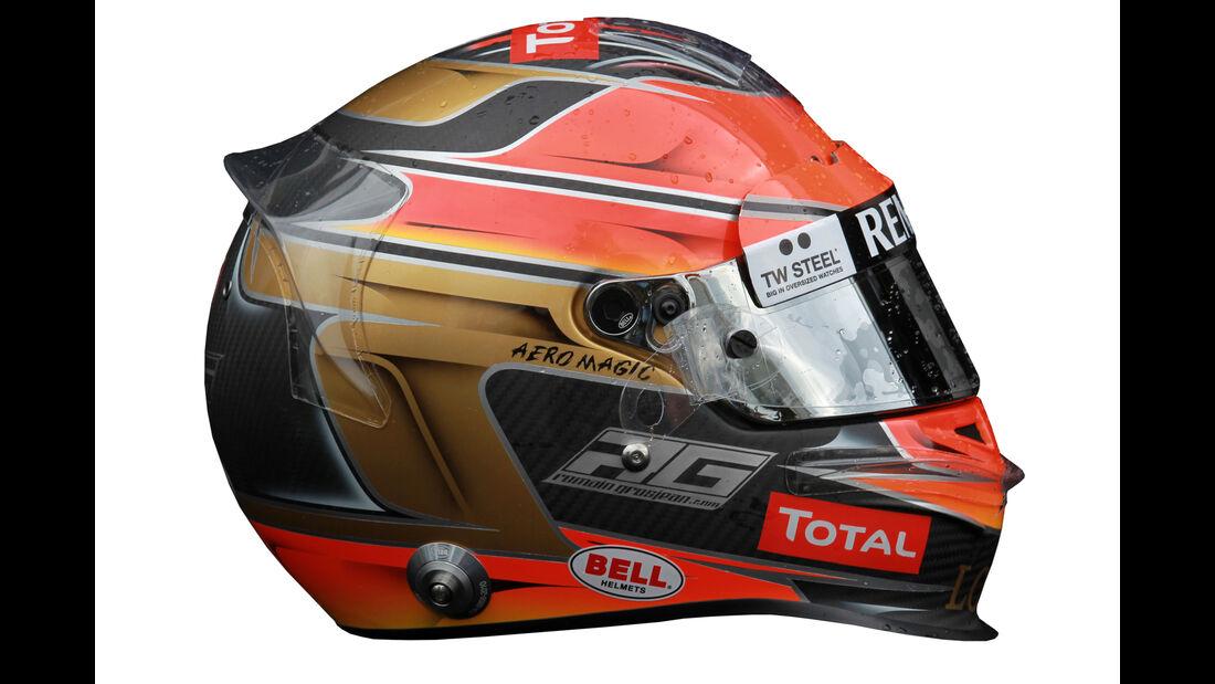 Romain Grosjean - Helm - 2013