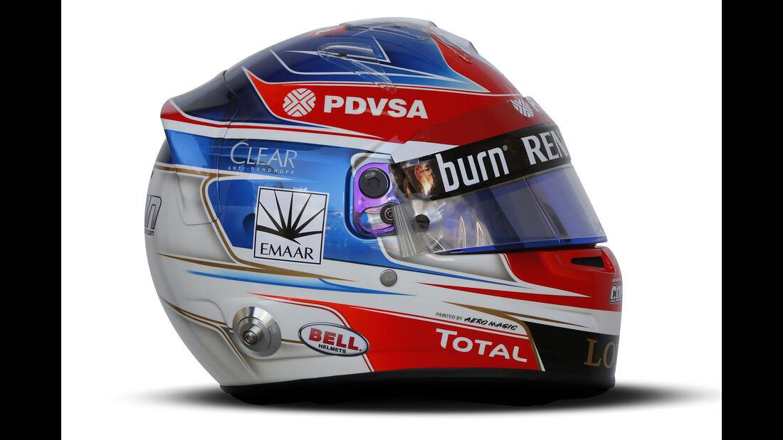 Romain Grosjean - Helm - 2014